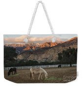 Sunset At Rancho Oso Weekender Tote Bag