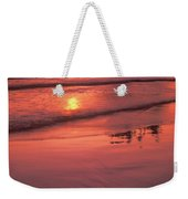 Sunset At Second Beach Olympic National Park Weekender Tote Bag