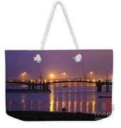 Sunset At Southampton Docks Weekender Tote Bag