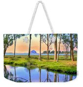 Sunset At Sweet Springs Weekender Tote Bag