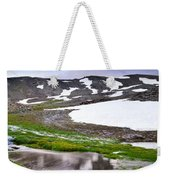Sunset At The Lake At 3000 M. Hight Weekender Tote Bag