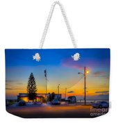 Sunset At The Post Weekender Tote Bag
