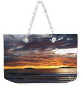 Sunset At The Shores Weekender Tote Bag