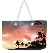 Sunset Beach Weekender Tote Bag