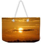 Sunset Bear Weekender Tote Bag
