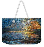 Sunset Before The Storm Weekender Tote Bag