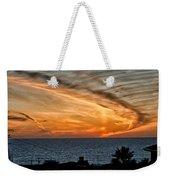 Sunset Blues Weekender Tote Bag
