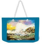Sunset Breakers Weekender Tote Bag