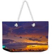 Sunset By Causeway Bridge Weekender Tote Bag