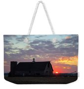 Sunset By The Barn 2 Weekender Tote Bag