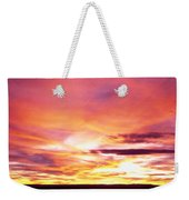 Sunset, Canyon De Chelly, Arizona, Usa Weekender Tote Bag