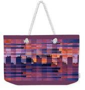 Sunset City Weekender Tote Bag