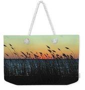 Sunset Colors Island Beach State Park Nj Weekender Tote Bag