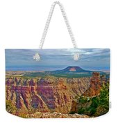 Sunset Crater View From Desert View On East Side Of South Rim Grand Canyon National Park-arizona  Weekender Tote Bag