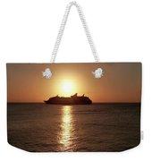 Sunset Cruise Weekender Tote Bag
