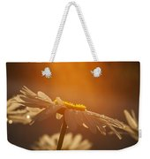 Sunset Daisy Weekender Tote Bag