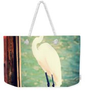 Sunset Dock Visitor Weekender Tote Bag