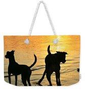 Sunset Dogs  Weekender Tote Bag