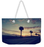 Sunset Drive Weekender Tote Bag by Laurie Search