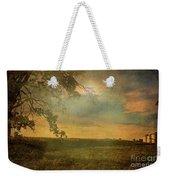 Sunset Farmland Weekender Tote Bag
