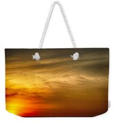 Sunset Feather Clouds Weekender Tote Bag