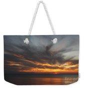 Sunset Fiery Sky Weekender Tote Bag
