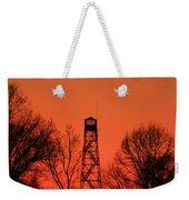 Sunset Fire Tower In Oconee County Weekender Tote Bag