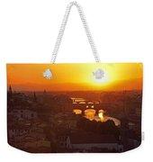 Sunset Florence Weekender Tote Bag