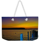 Sunset From Andersons Dock Weekender Tote Bag