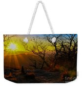 Sunset From Blood Mountain Weekender Tote Bag