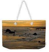 Sunset From Damon Point Weekender Tote Bag