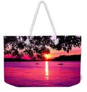 Sunset From Point Fosdick Gig Harbor Washington Weekender Tote Bag