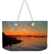 Sunset From Quincy Ma Weekender Tote Bag