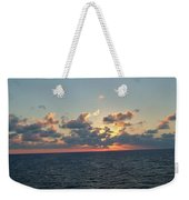 Sunset From The Carnival Triumph Weekender Tote Bag
