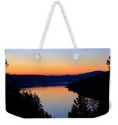 Sunset From The Deck Weekender Tote Bag