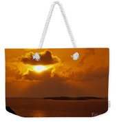 Sunset From The Dolphin Watch Cottage Weekender Tote Bag
