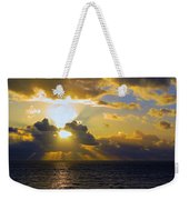 Sunset From The Mumbles Weekender Tote Bag