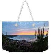 Sunset Garden View Weekender Tote Bag