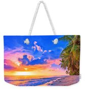 Sunset Glow On The Kona Coast Weekender Tote Bag