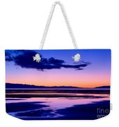 Sunset Great Salt Lake - Utah Weekender Tote Bag