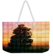 Sunset Grid 2 Weekender Tote Bag