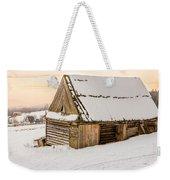 Sunset Hut Weekender Tote Bag