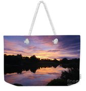 Sunset II At Japanese Garden Weekender Tote Bag