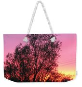 Sunset In April- Silute Lithuania Weekender Tote Bag