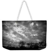 Sunset In Black And White Weekender Tote Bag