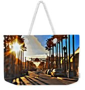 Sunset In Daytona Beach Weekender Tote Bag