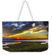 Sunset In Delaware Weekender Tote Bag