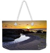 Sunset In Iceland Weekender Tote Bag