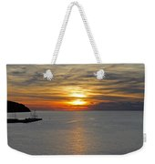 Sunset In Koper Weekender Tote Bag