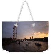 Sunset In London Weekender Tote Bag